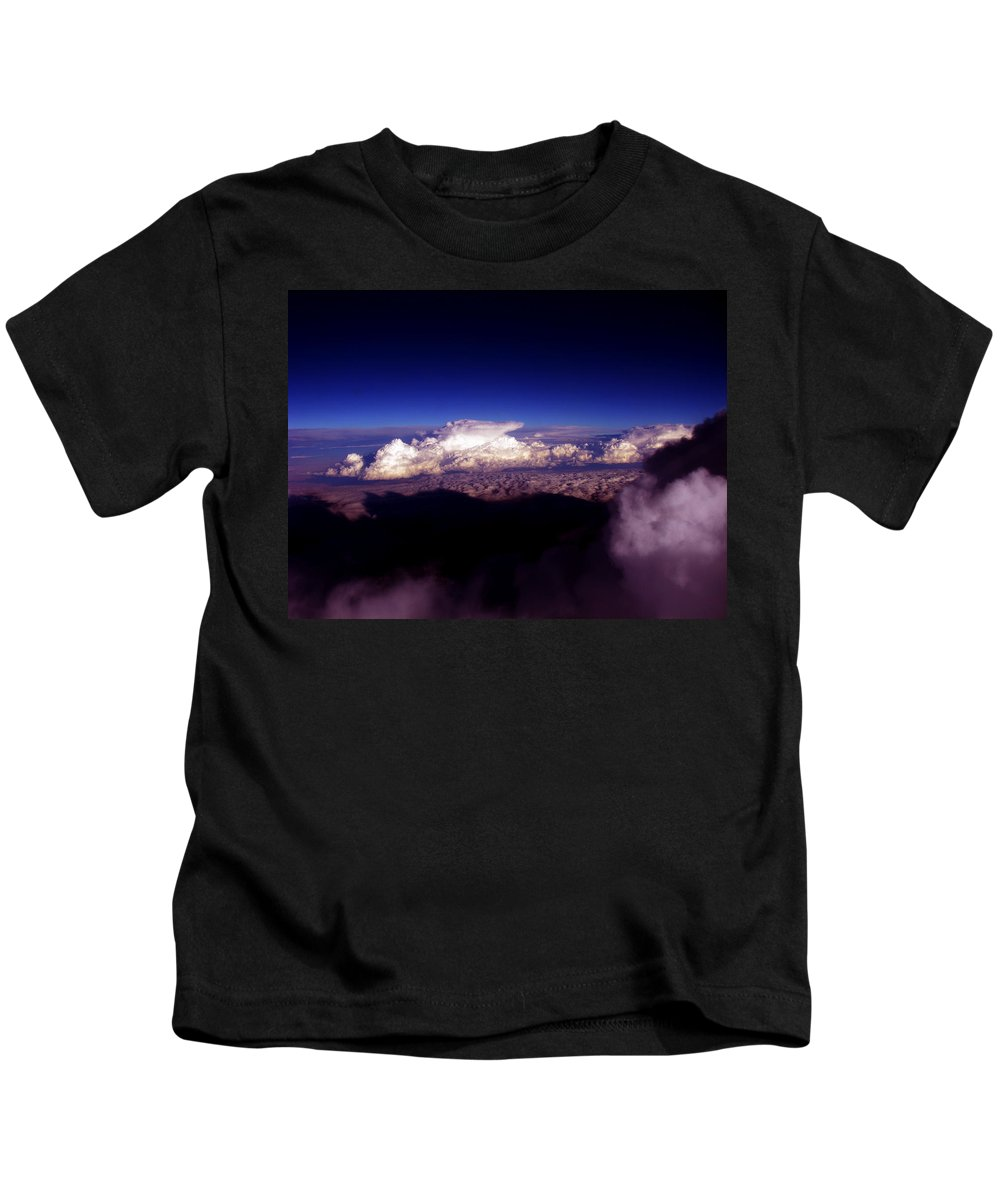 Cloud Photos Kids T-Shirt featuring the photograph Cb3.46 by Strato ThreeSIXTYFive