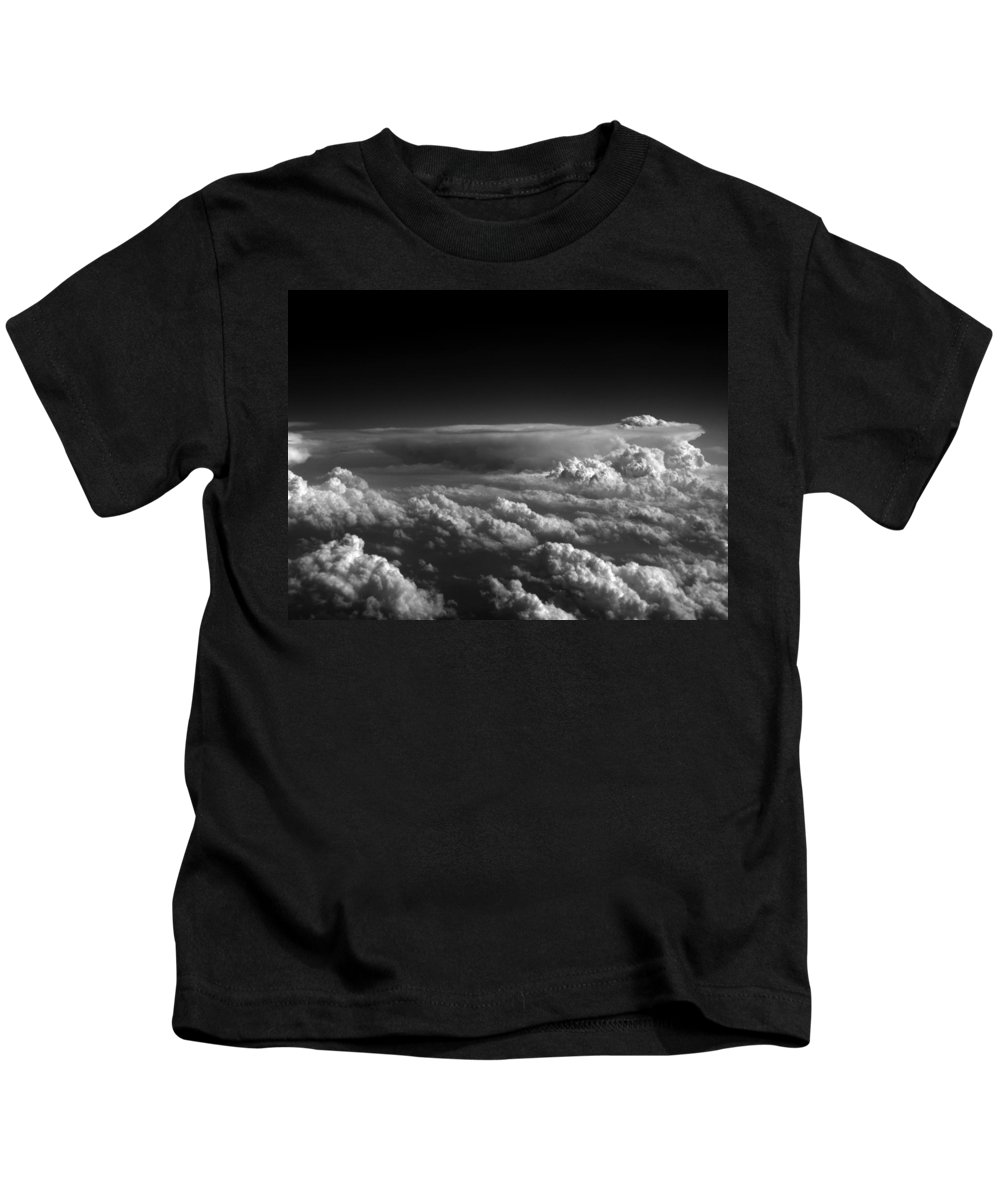 Cloud Photos Kids T-Shirt featuring the photograph Cb3.963 by Strato ThreeSIXTYFive