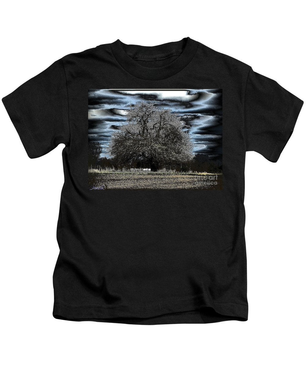 Tree Kids T-Shirt featuring the photograph Celtic by September Stone