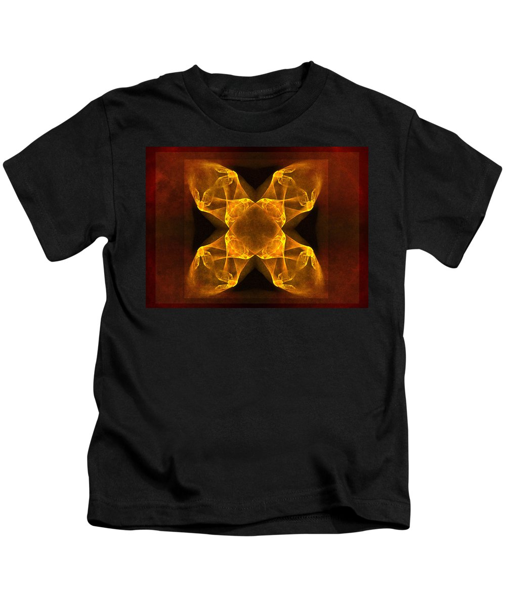 Gothic Kids T-Shirt featuring the digital art Celtic Gothica by Georgiana Romanovna