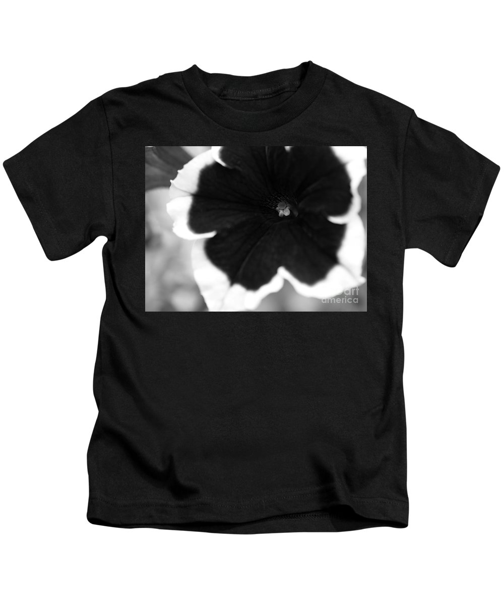 Floral Kids T-Shirt featuring the photograph Centered by Amanda Barcon