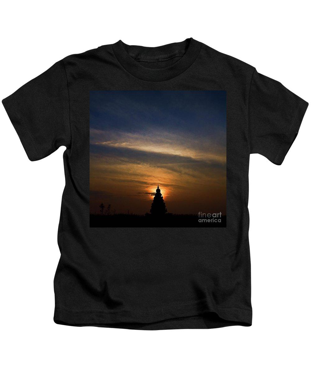 Abstract Kids T-Shirt featuring the photograph Chakra Dreams by Hari Prakkash