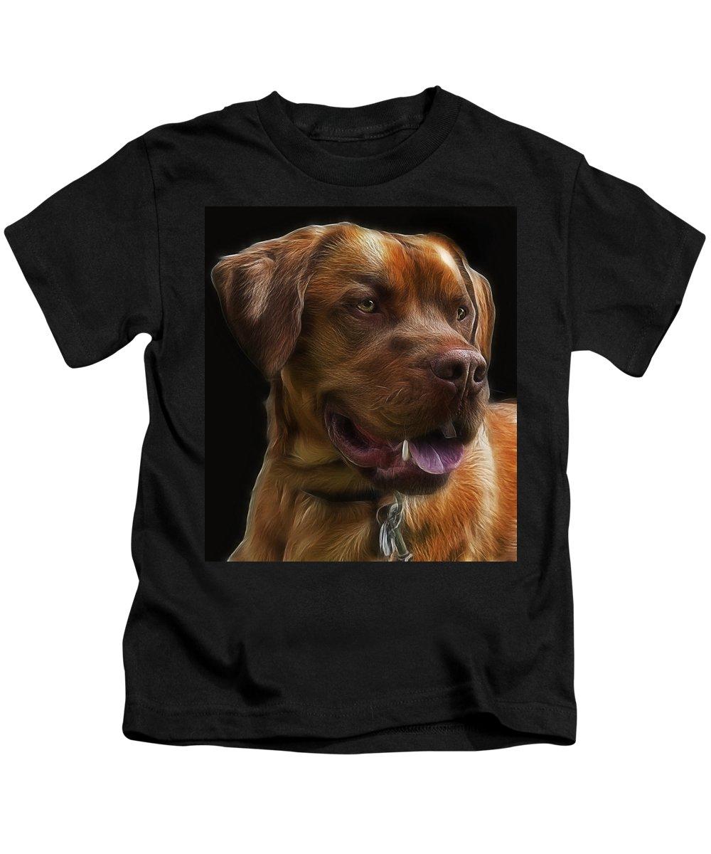 Animal Kids T-Shirt featuring the photograph Charles by Joachim G Pinkawa