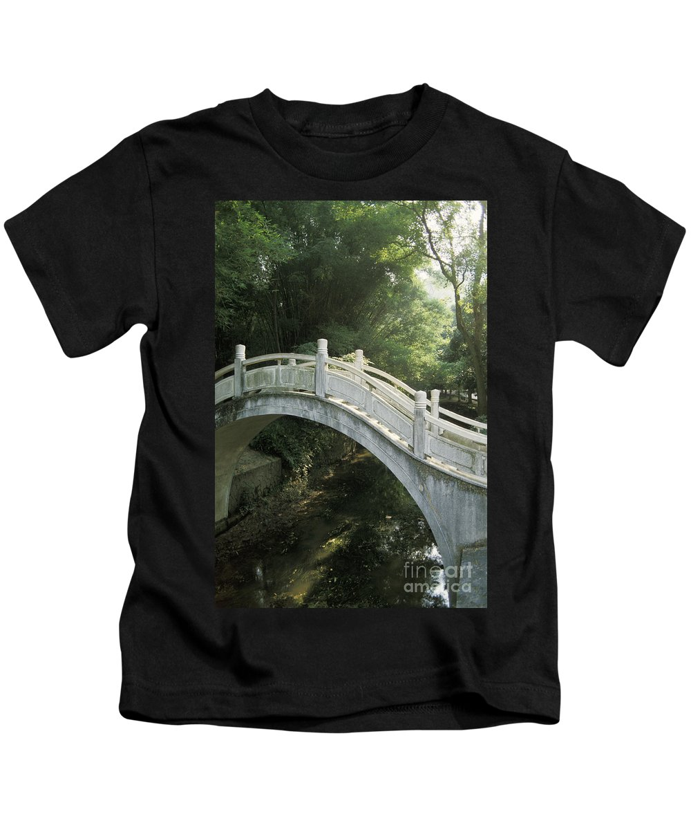 Arch Kids T-Shirt featuring the photograph China, Guilin by Larry Dale Gordon - Printscapes