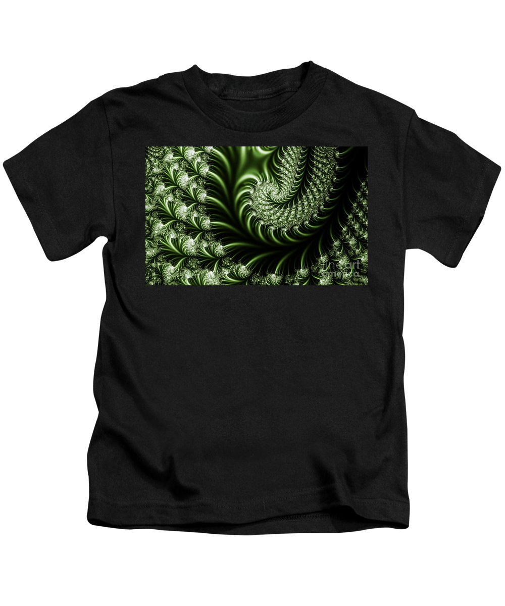 Clay Kids T-Shirt featuring the digital art Chlorophyll by Clayton Bruster