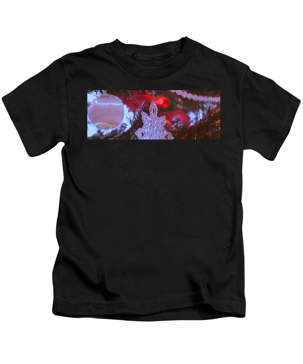 Christmas Kids T-Shirt featuring the photograph Christmas Composition by Ian MacDonald