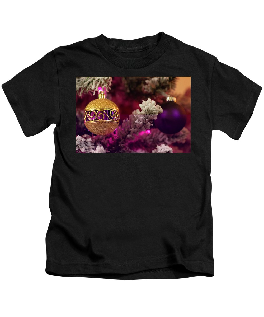 Christmas Kids T-Shirt featuring the photograph Christmas Ornament 2 by Krystal Billett
