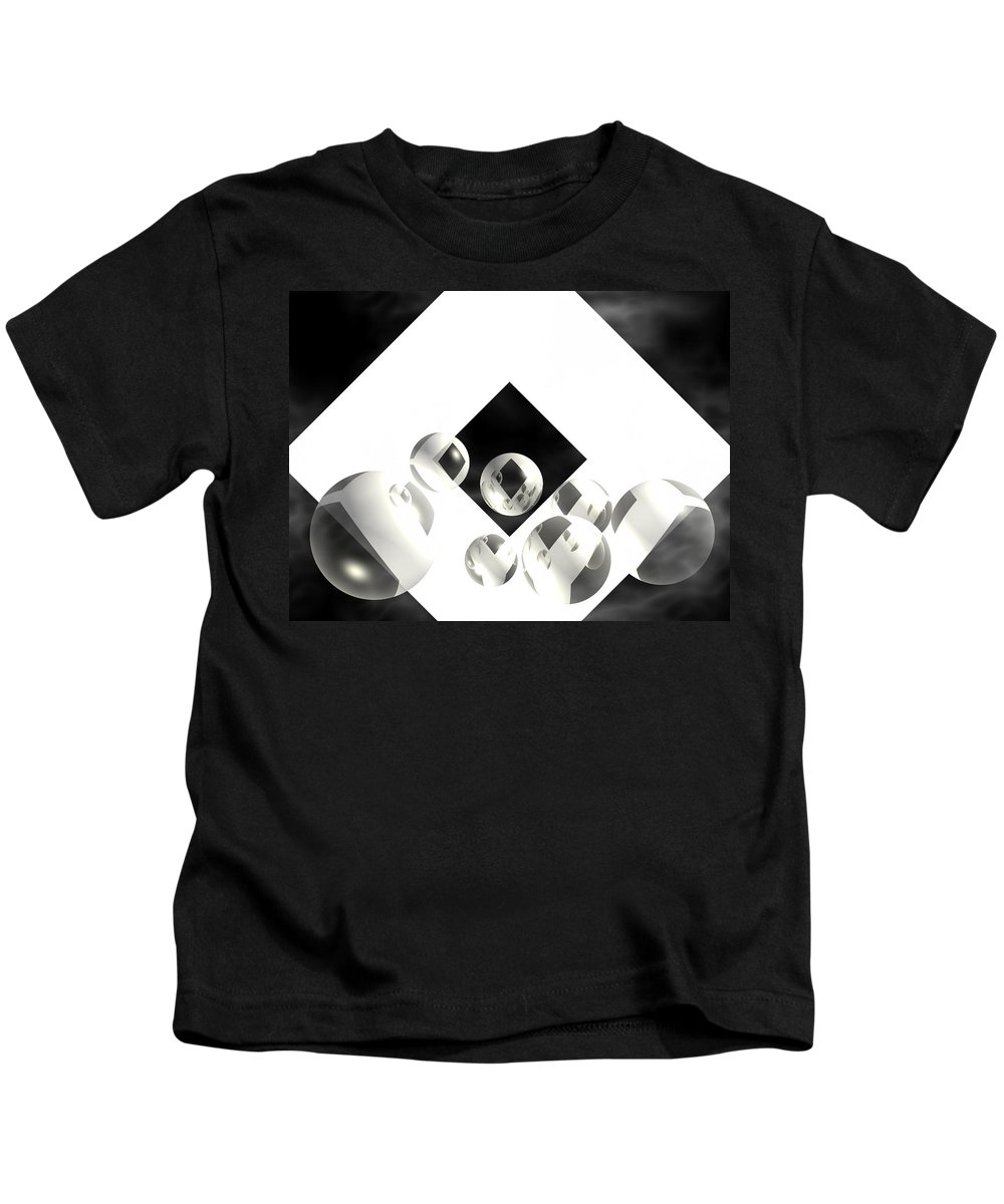 Abstracts Kids T-Shirt featuring the photograph Outer Limits by Lauren Krajenta