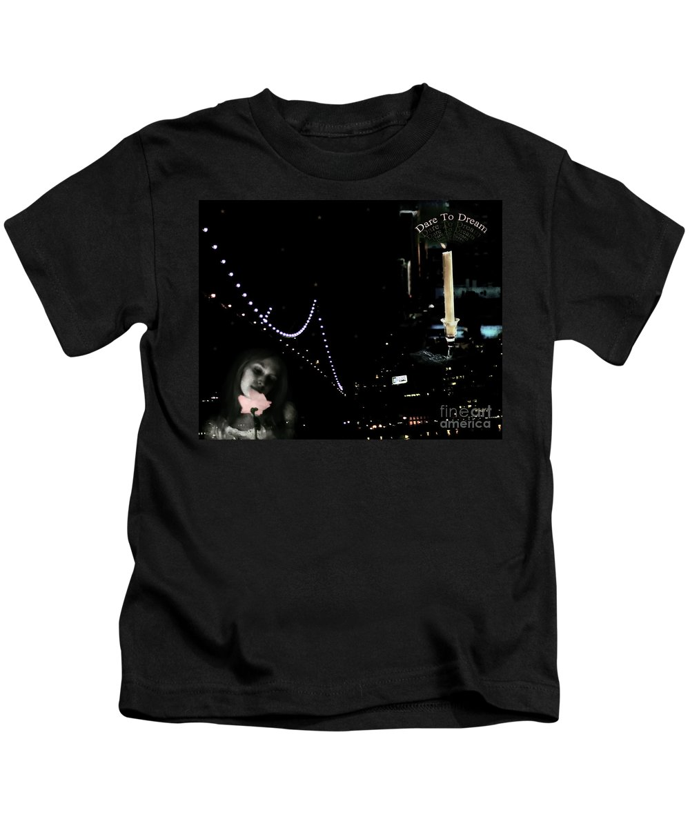 City Kids T-Shirt featuring the photograph City Of Dreams by Madeline Ellis