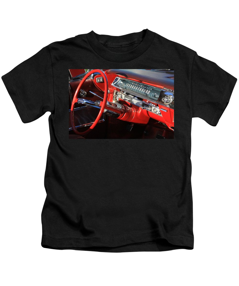 Red Kids T-Shirt featuring the photograph Classic Red by Robert Pearson