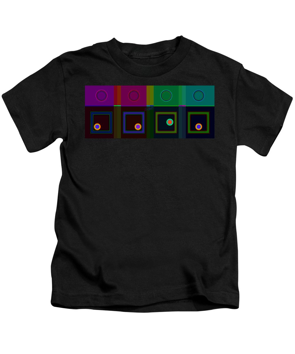 Classical Kids T-Shirt featuring the digital art Classical Hop by Charles Stuart
