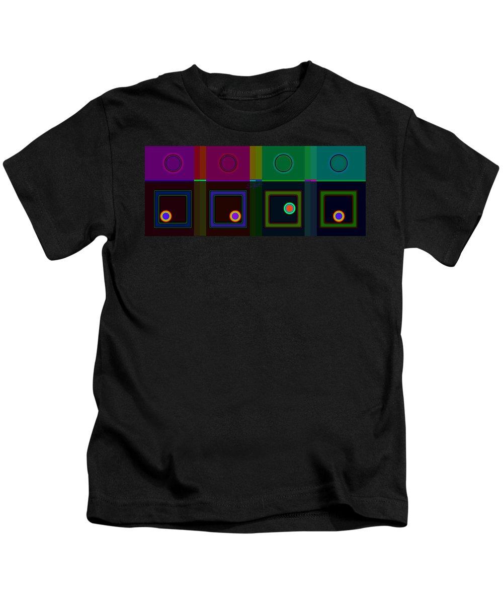 Classical Kids T-Shirt featuring the digital art Classical Hop by Charles Stuart