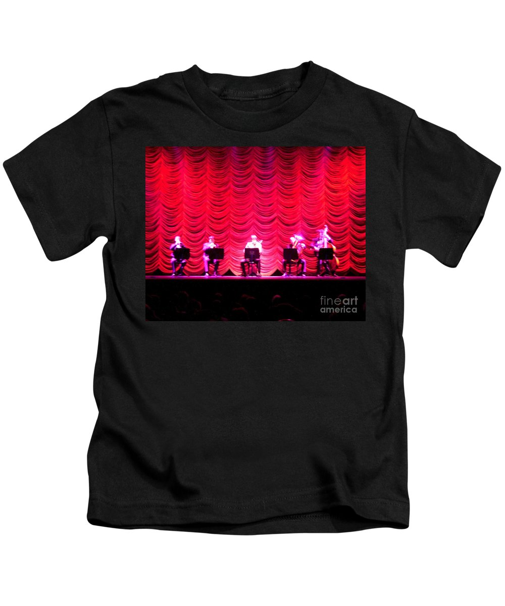 Classical Kids T-Shirt featuring the photograph Classical Quintet by Sherry Oliver