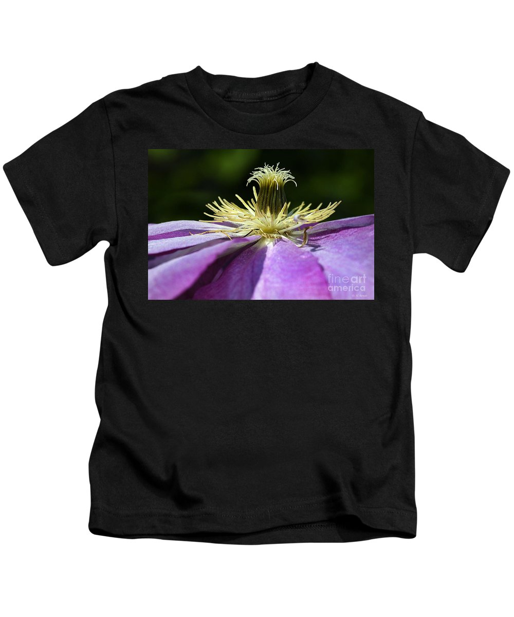 Flower Kids T-Shirt featuring the photograph Clementas by Deborah Benoit