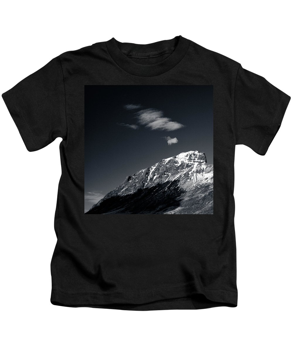 Mountains Kids T-Shirt featuring the photograph Cloud Formation by Dave Bowman