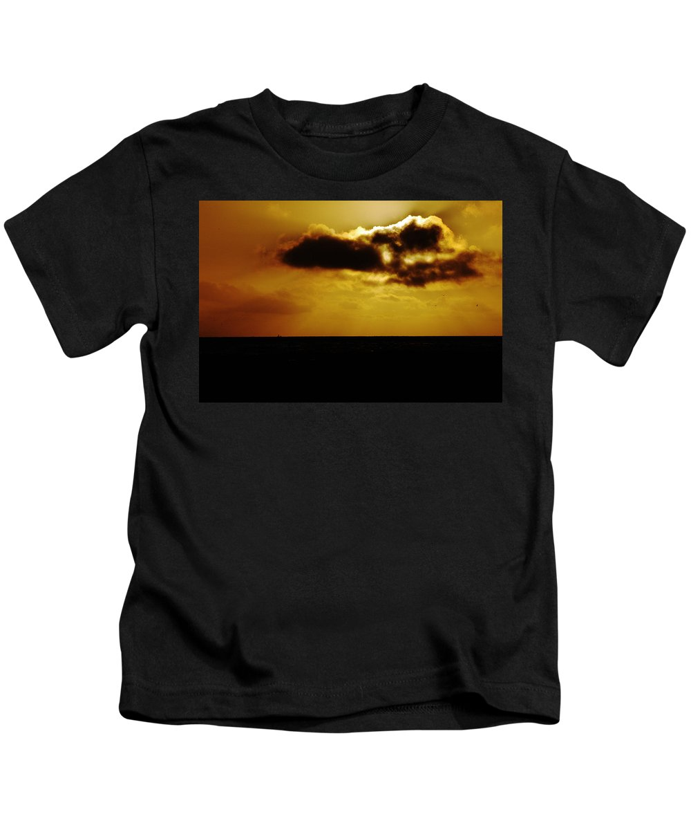 Clay Kids T-Shirt featuring the photograph Clouds Over The Ocean by Clayton Bruster