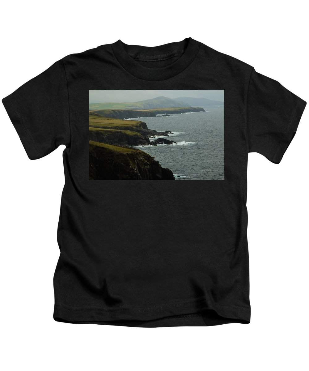 Ireland Kids T-Shirt featuring the photograph Coast To Coast by William Fredette-huffman