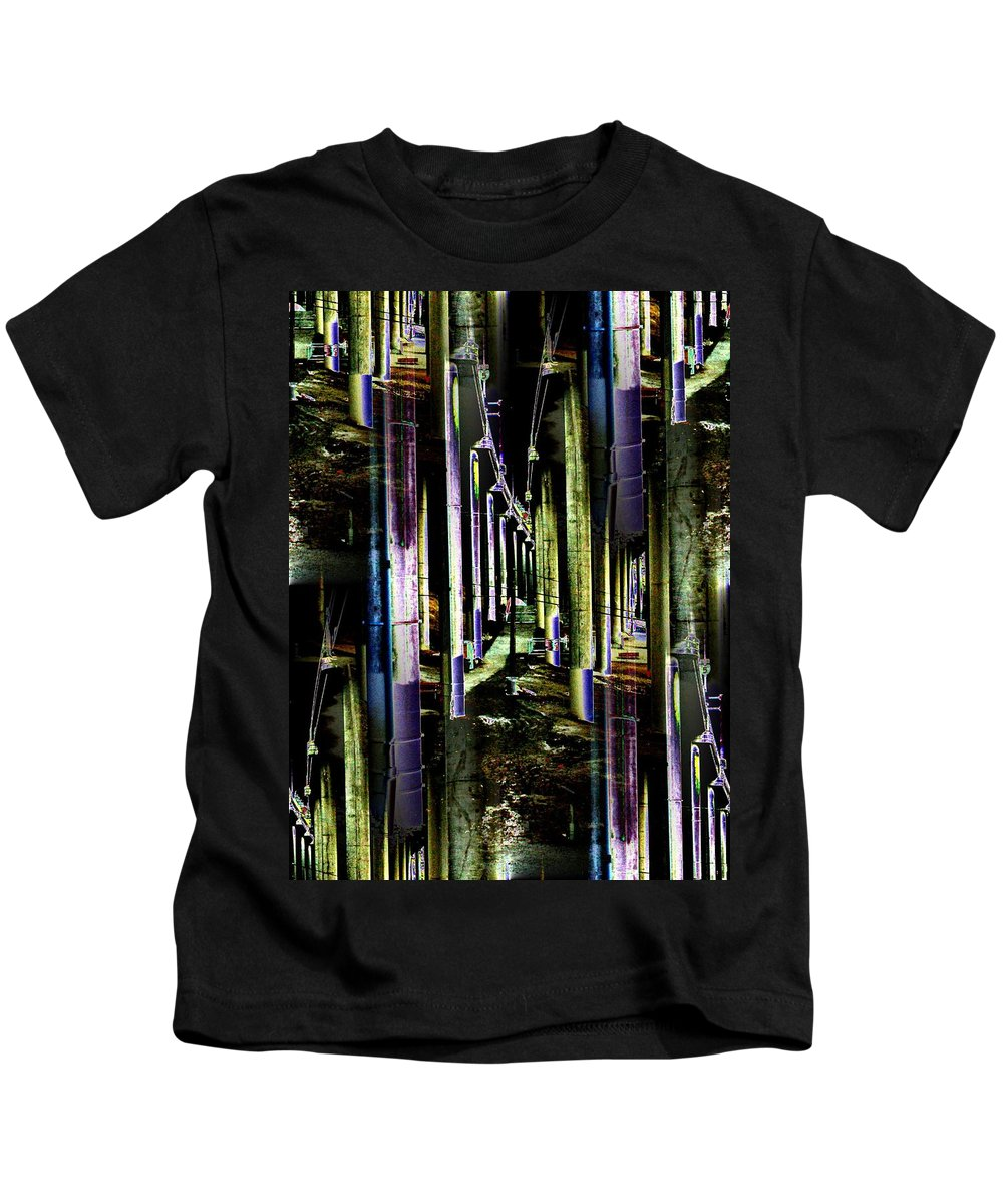 Seattle Kids T-Shirt featuring the photograph Collonade Park by Tim Allen