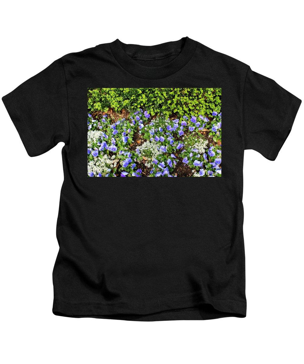 Flowers Kids T-Shirt featuring the photograph Color Craze by Deborah Crew-Johnson