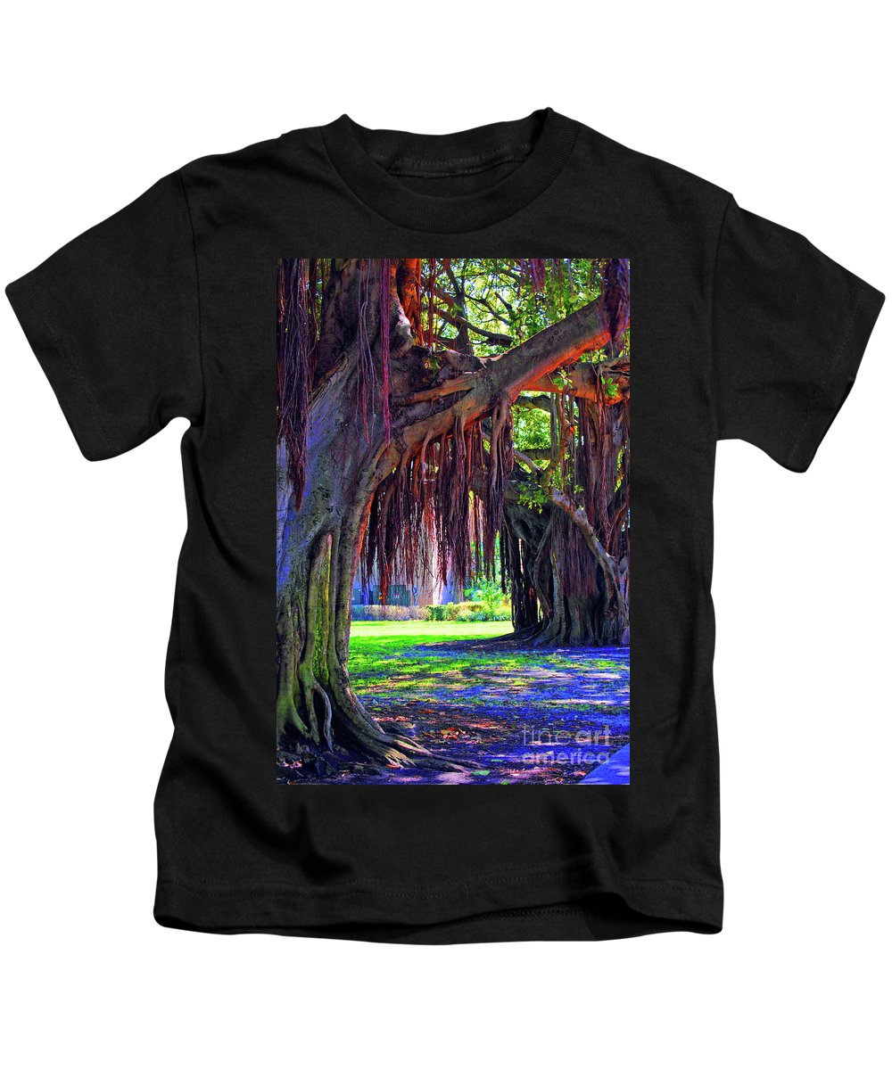 Color Kids T-Shirt featuring the photograph Color Of Nature by Jost Houk