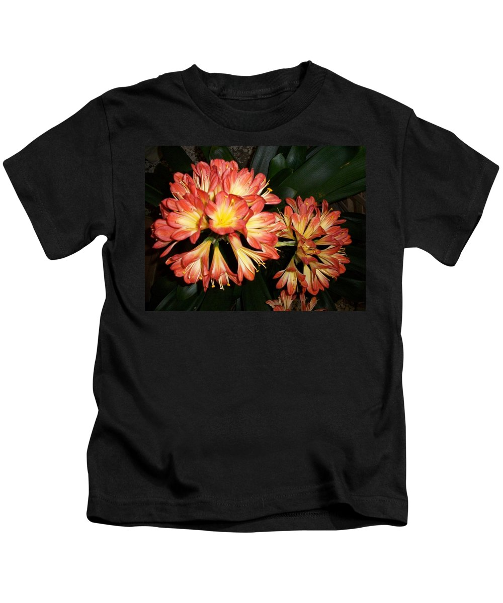 Photography Kids T-Shirt featuring the photograph Colorburst by Edmund Akers