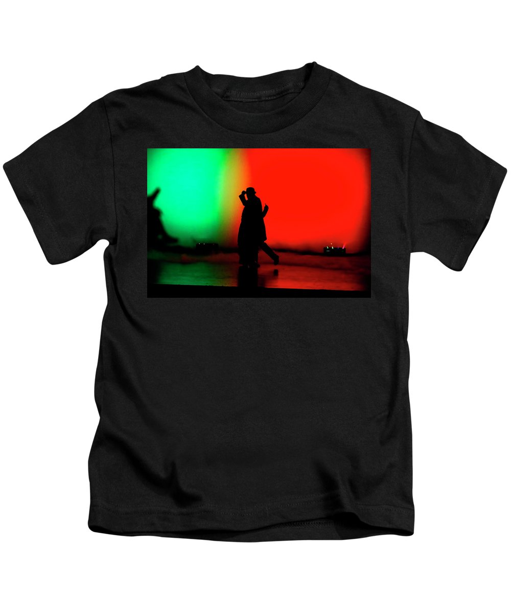 Events Kids T-Shirt featuring the photograph Coloring by Leigh Lofgren