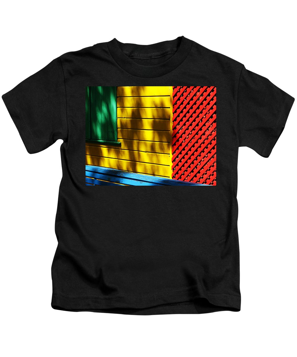 Buenos Aires Kids T-Shirt featuring the photograph Colors by Osvaldo Hamer