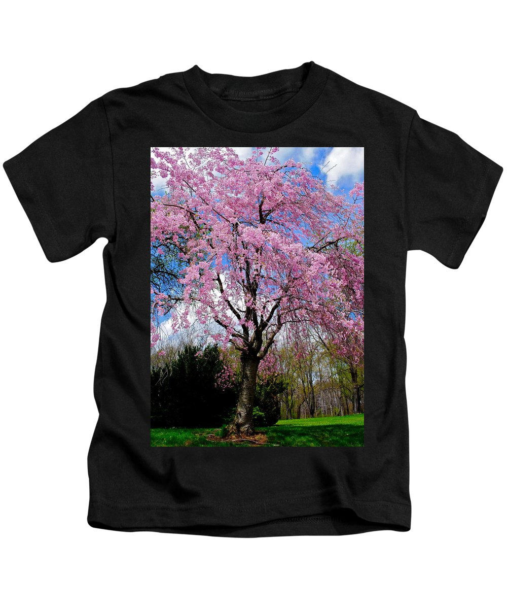 Spring Kids T-Shirt featuring the photograph Coming To Life by Frozen in Time Fine Art Photography