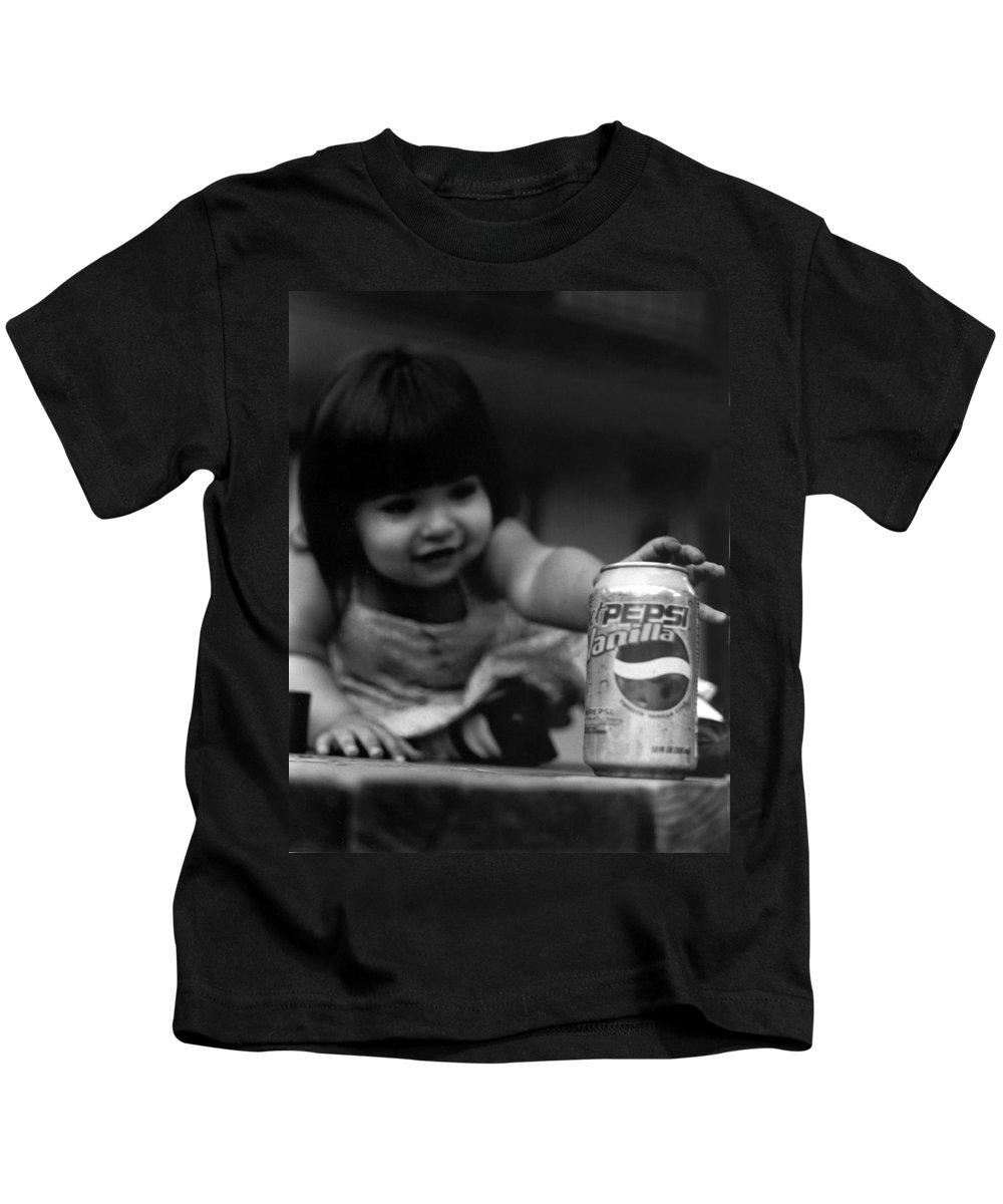 Dark Art Kids T-Shirt featuring the photograph Consumer by Peter Piatt