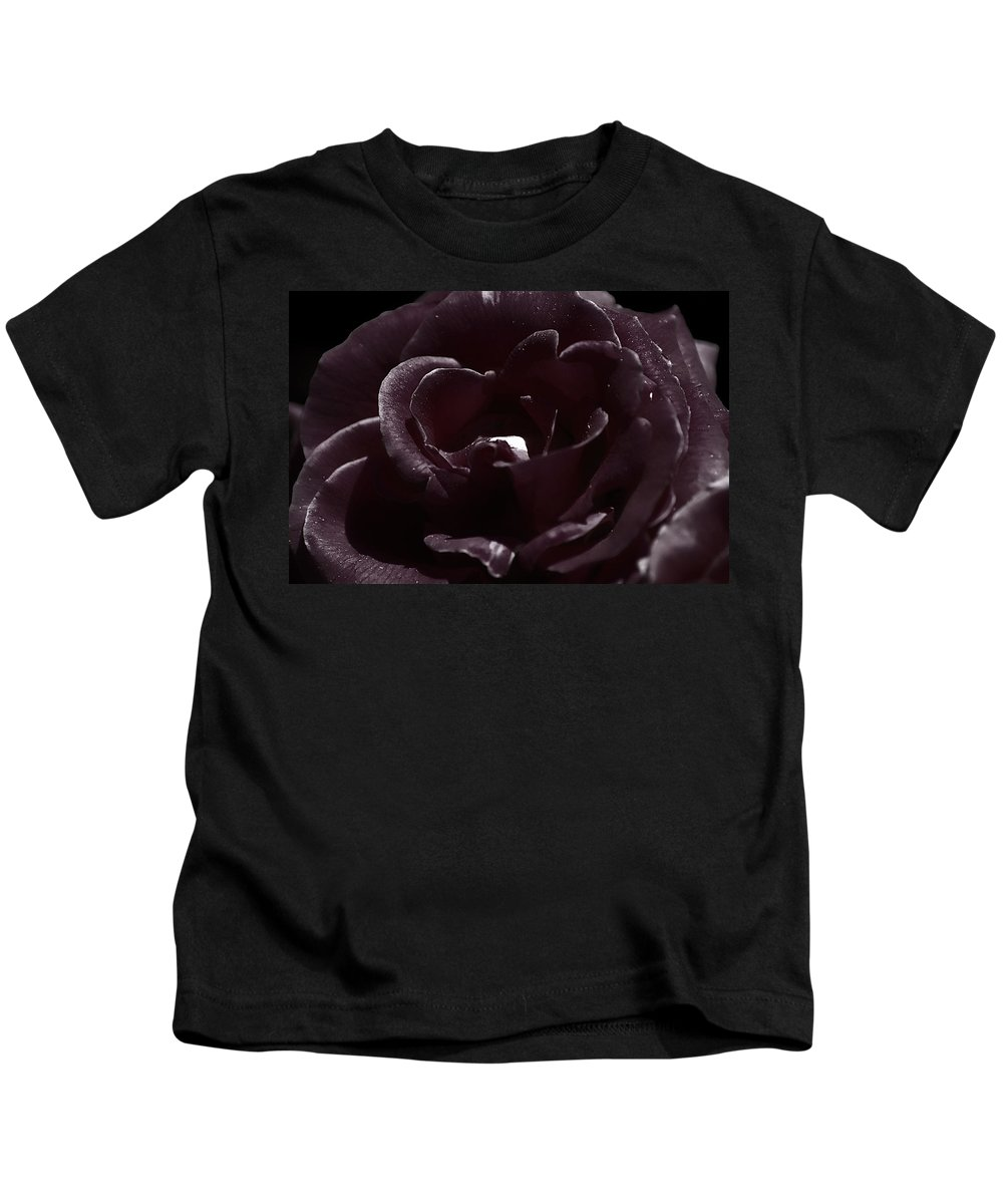 Clay Kids T-Shirt featuring the photograph Cranberry Rose by Clayton Bruster