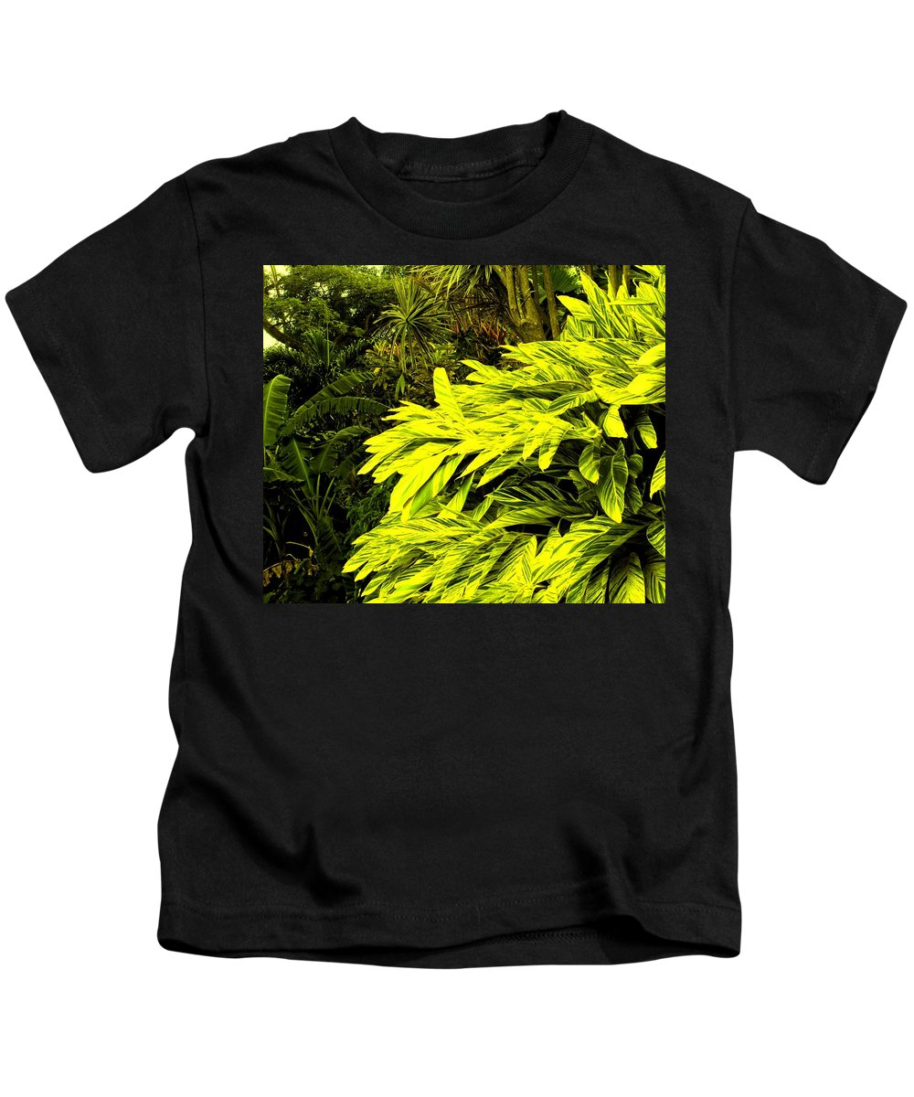 Croton Kids T-Shirt featuring the photograph Croton Cascading Down The Hillside by Ian MacDonald