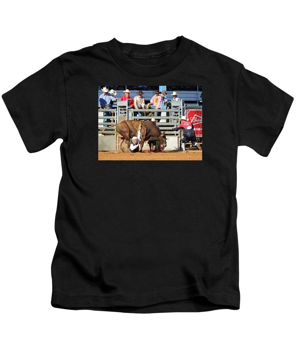 Arcadia Kids T-Shirt featuring the photograph Crushed by Claudia Daniels