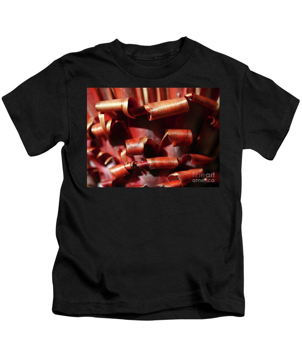 Curl Kids T-Shirt featuring the photograph Curl Up And Die by Stephen Mitchell