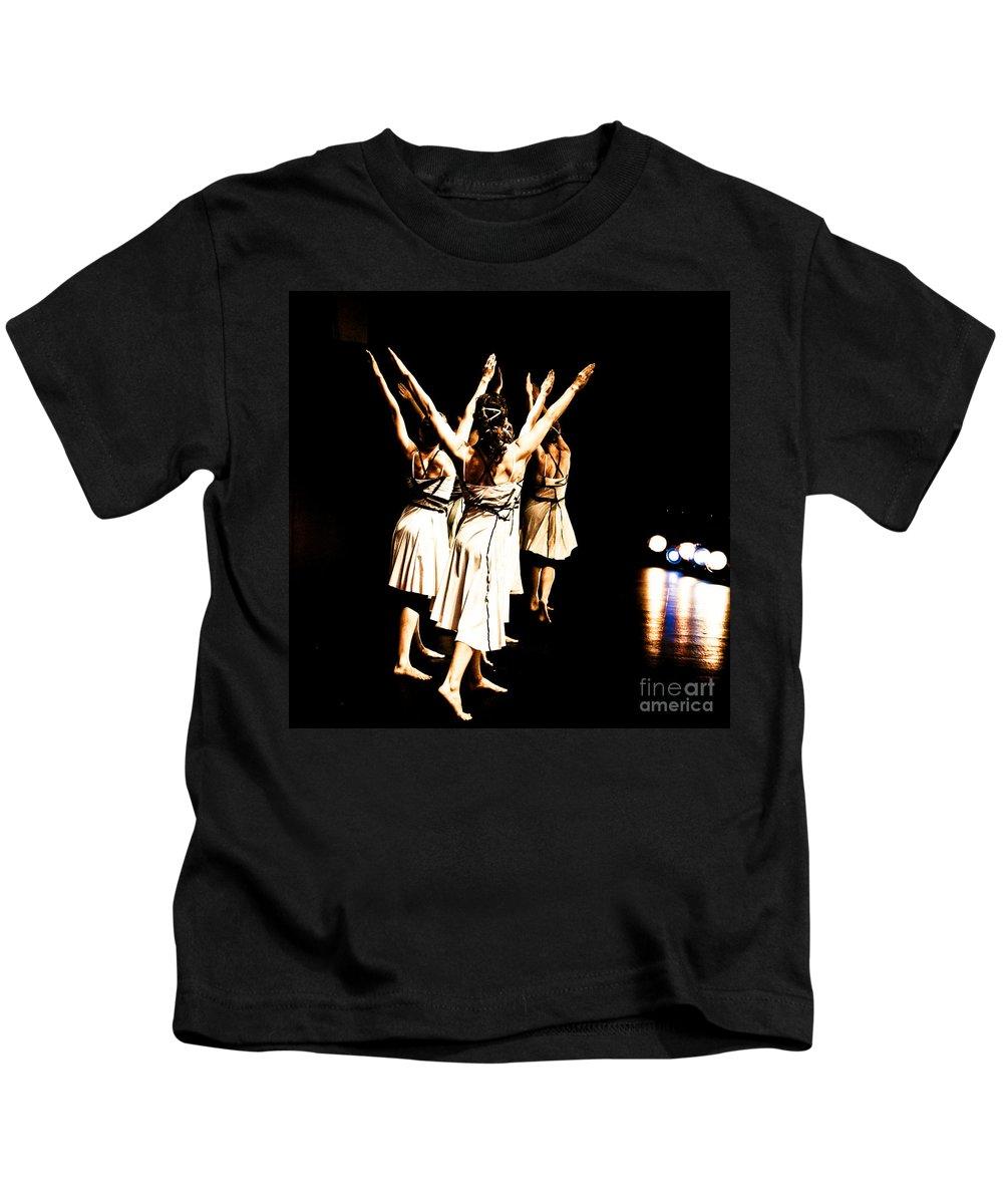 Dance Kids T-Shirt featuring the photograph Dance - Y by Scott Sawyer