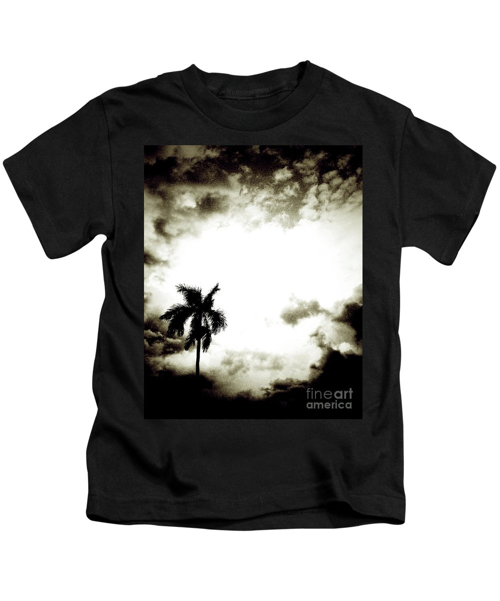 Florida Kids T-Shirt featuring the photograph Darkness Moving In Extreme by Chris Andruskiewicz