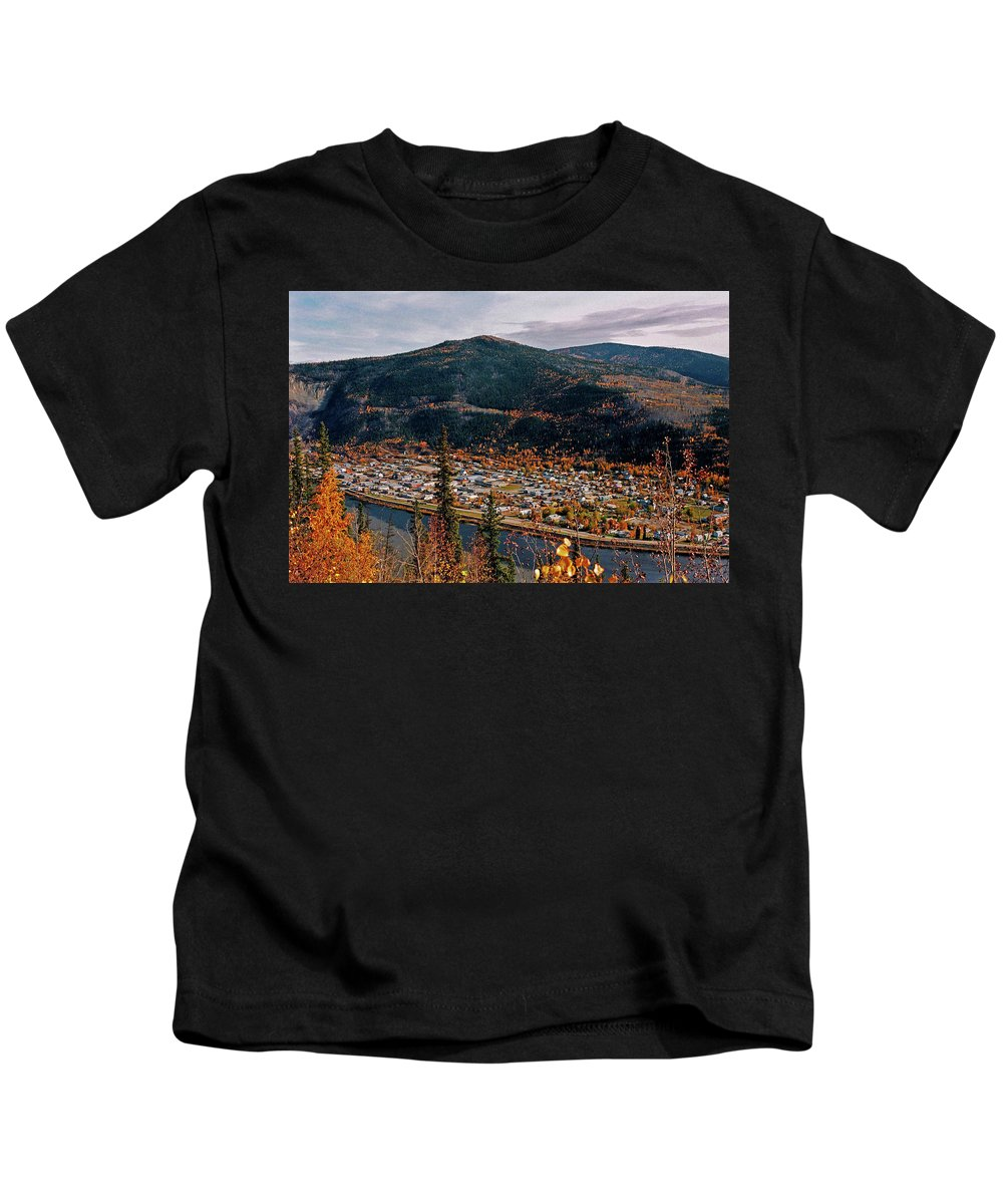 Canada Kids T-Shirt featuring the photograph Dawson City - Yukon by Juergen Weiss
