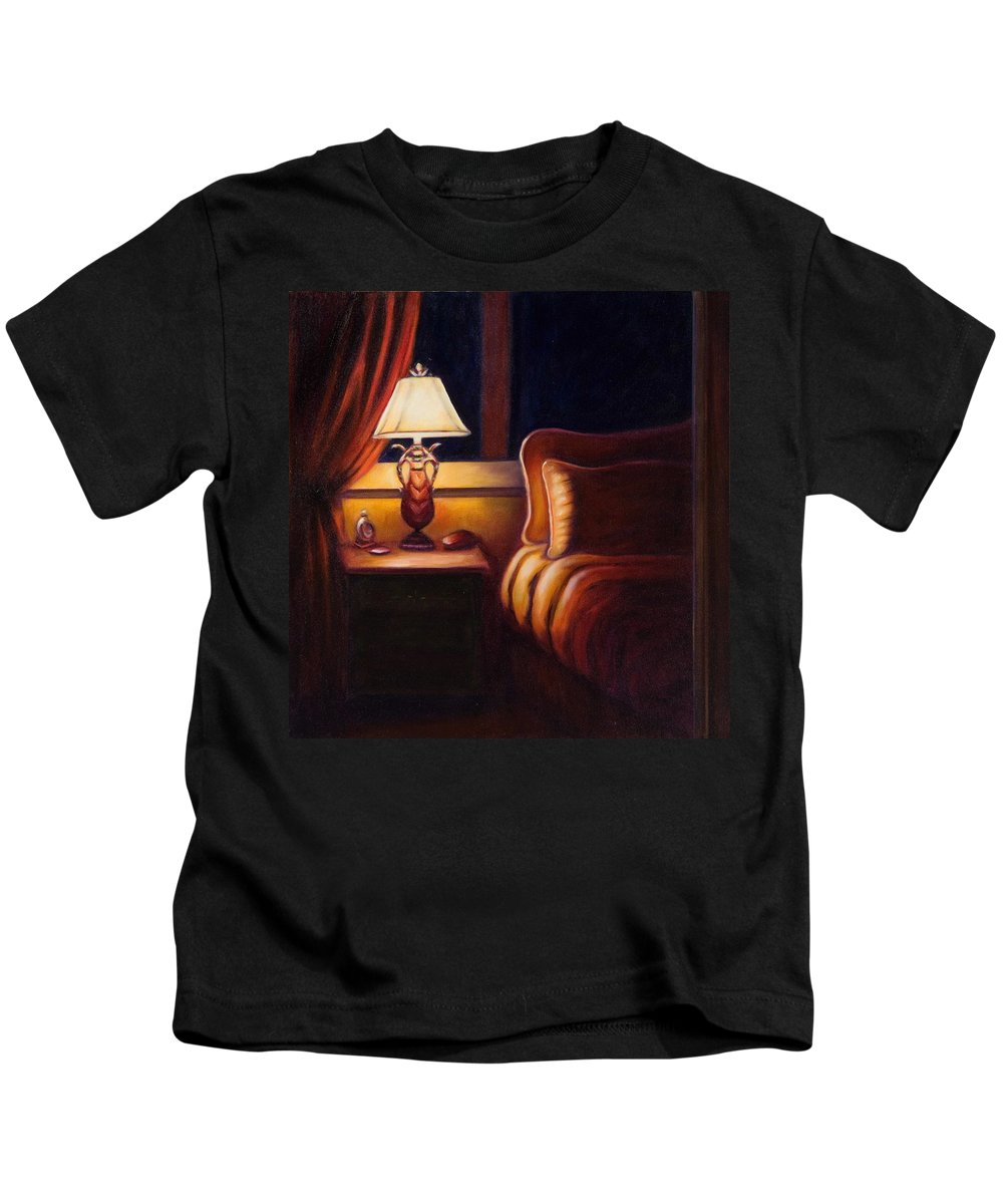 Still Life Kids T-Shirt featuring the painting Days End by Shannon Grissom