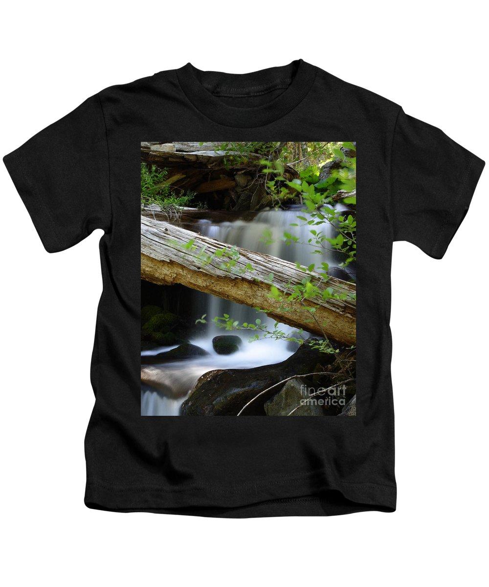 Creek Kids T-Shirt featuring the photograph Deer Creek 13 by Peter Piatt