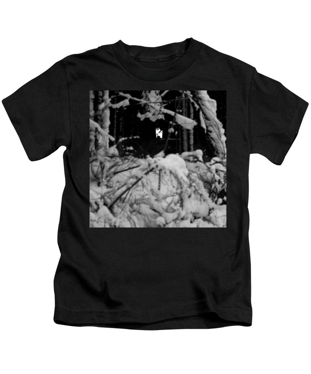 Deer Silhouette Kids T-Shirt featuring the photograph Deer Silhouette by Pati Photography