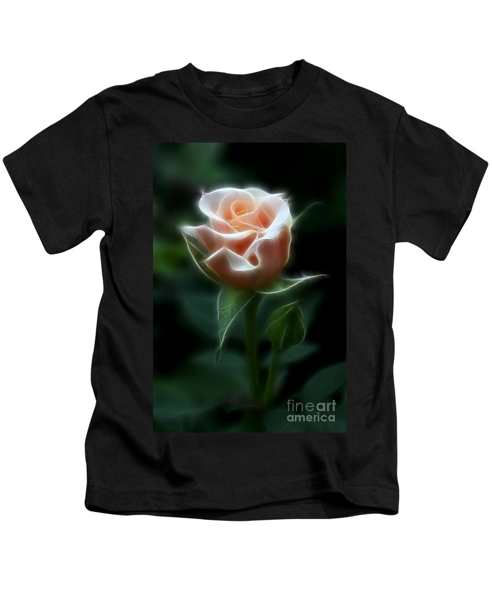Photography Kids T-Shirt featuring the photograph Delight In Beauty by Deborah Benoit
