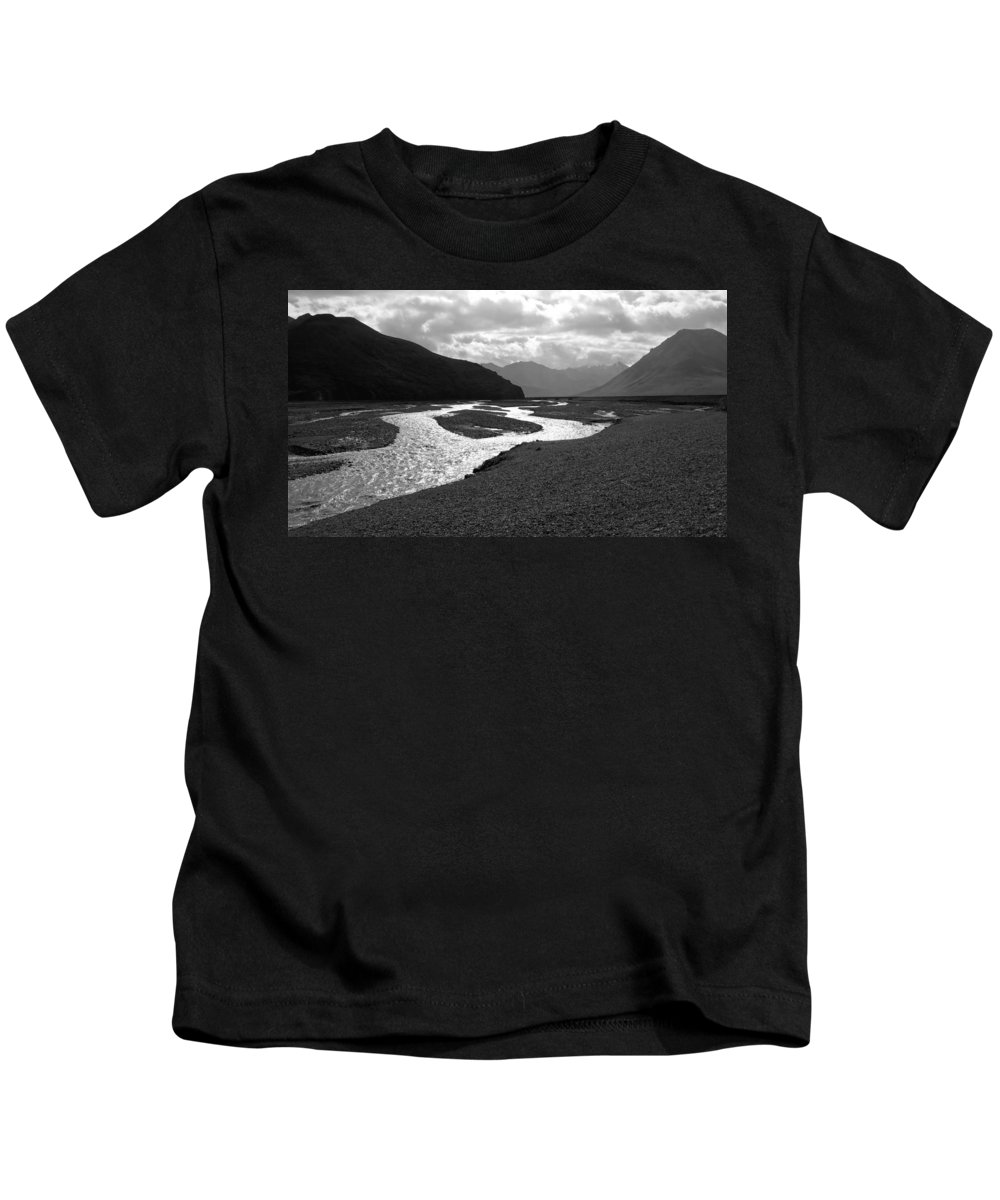 Alaska Kids T-Shirt featuring the photograph Denali National Park 5 by Dick Goodman