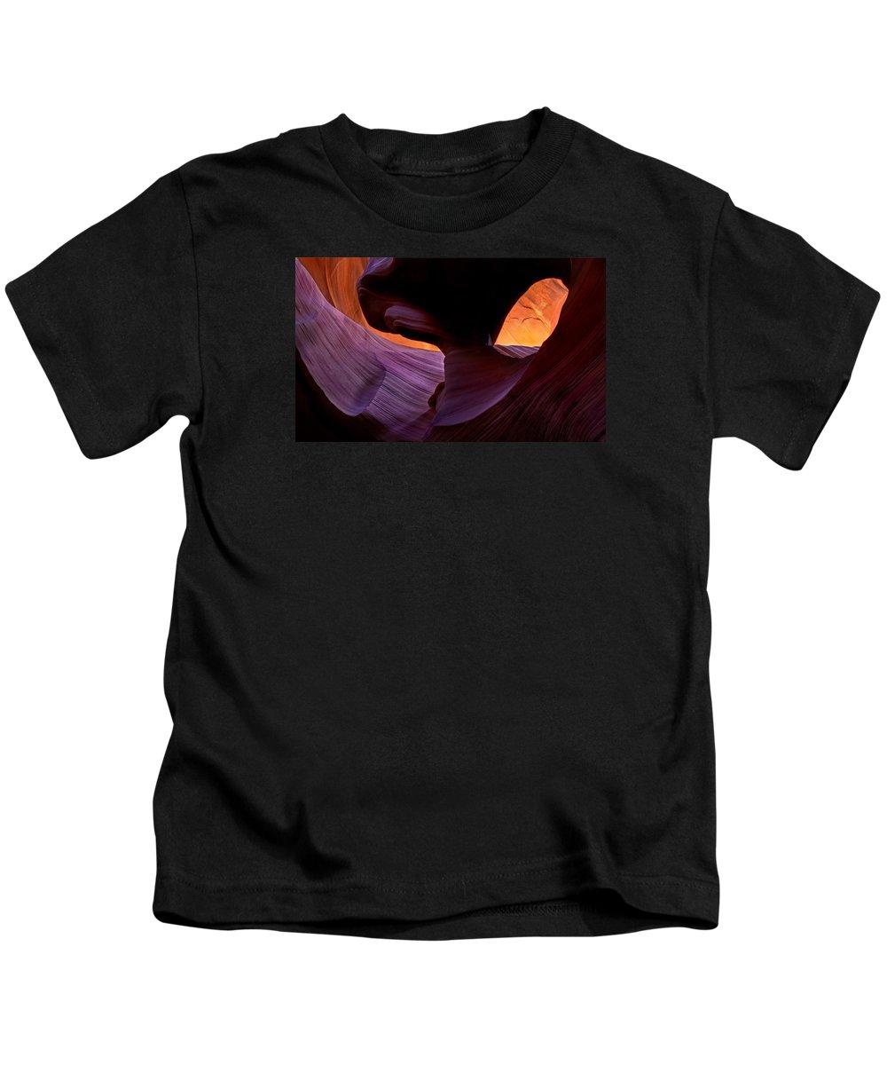 Eye Kids T-Shirt featuring the photograph Desert Eye by Mike Dawson