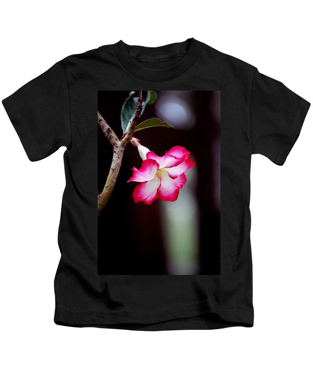 Flower Kids T-Shirt featuring the photograph Desert Flower by Robert Meanor