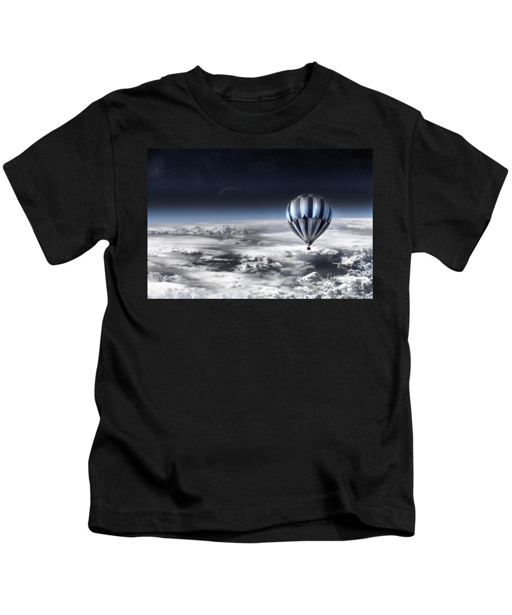 Sky Kids T-Shirt featuring the photograph Destiny by Jacky Gerritsen