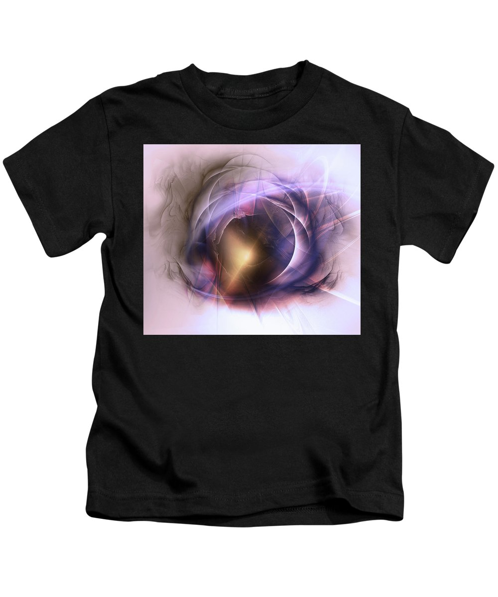 Digital Kids T-Shirt featuring the digital art Discovered by Andy Young