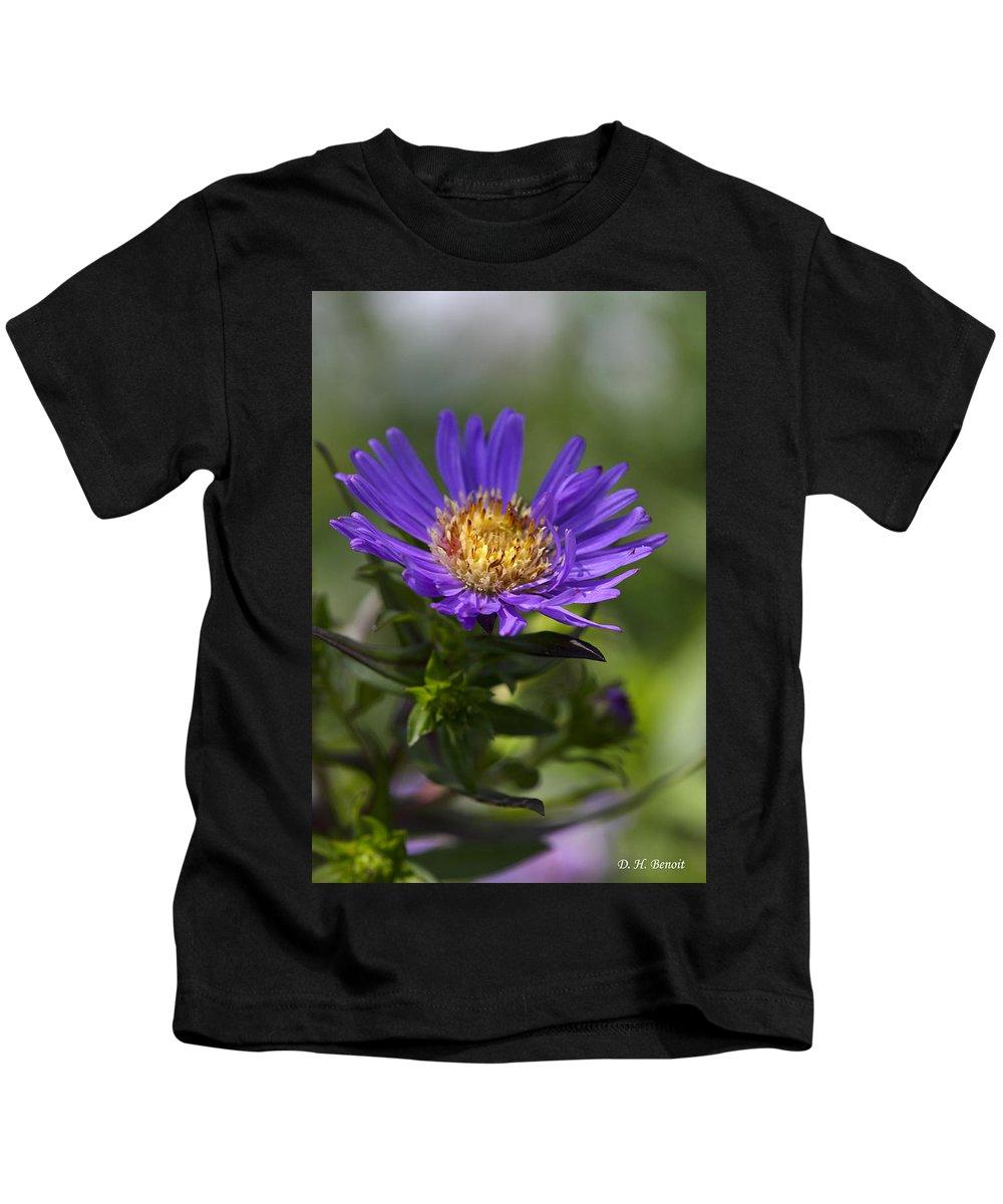Flower Kids T-Shirt featuring the photograph Display Of Softness by Deborah Benoit
