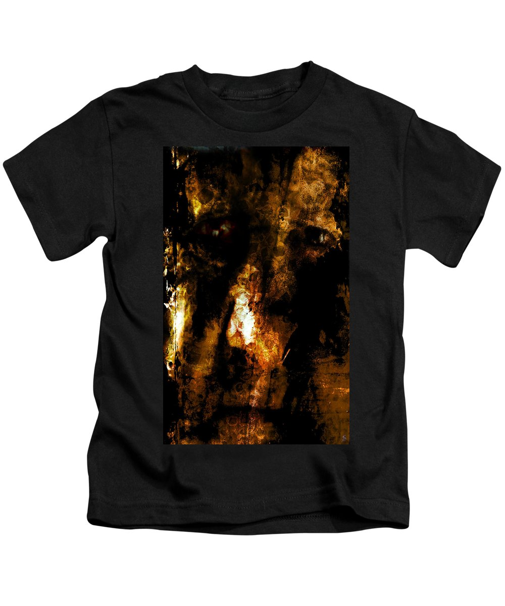 Dorian Gray Kids T-Shirt featuring the photograph Dorian Gray by Ken Walker