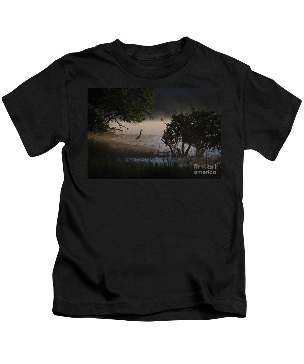 Douglas Kids T-Shirt featuring the photograph Douglas Lake by Douglas Stucky