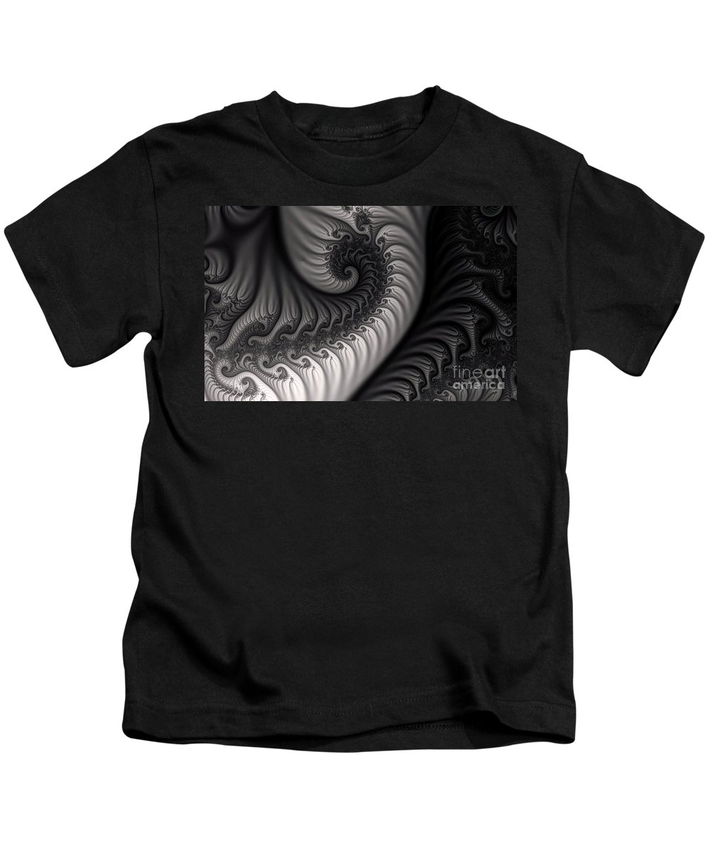Clay Kids T-Shirt featuring the digital art Dragon Belly by Clayton Bruster