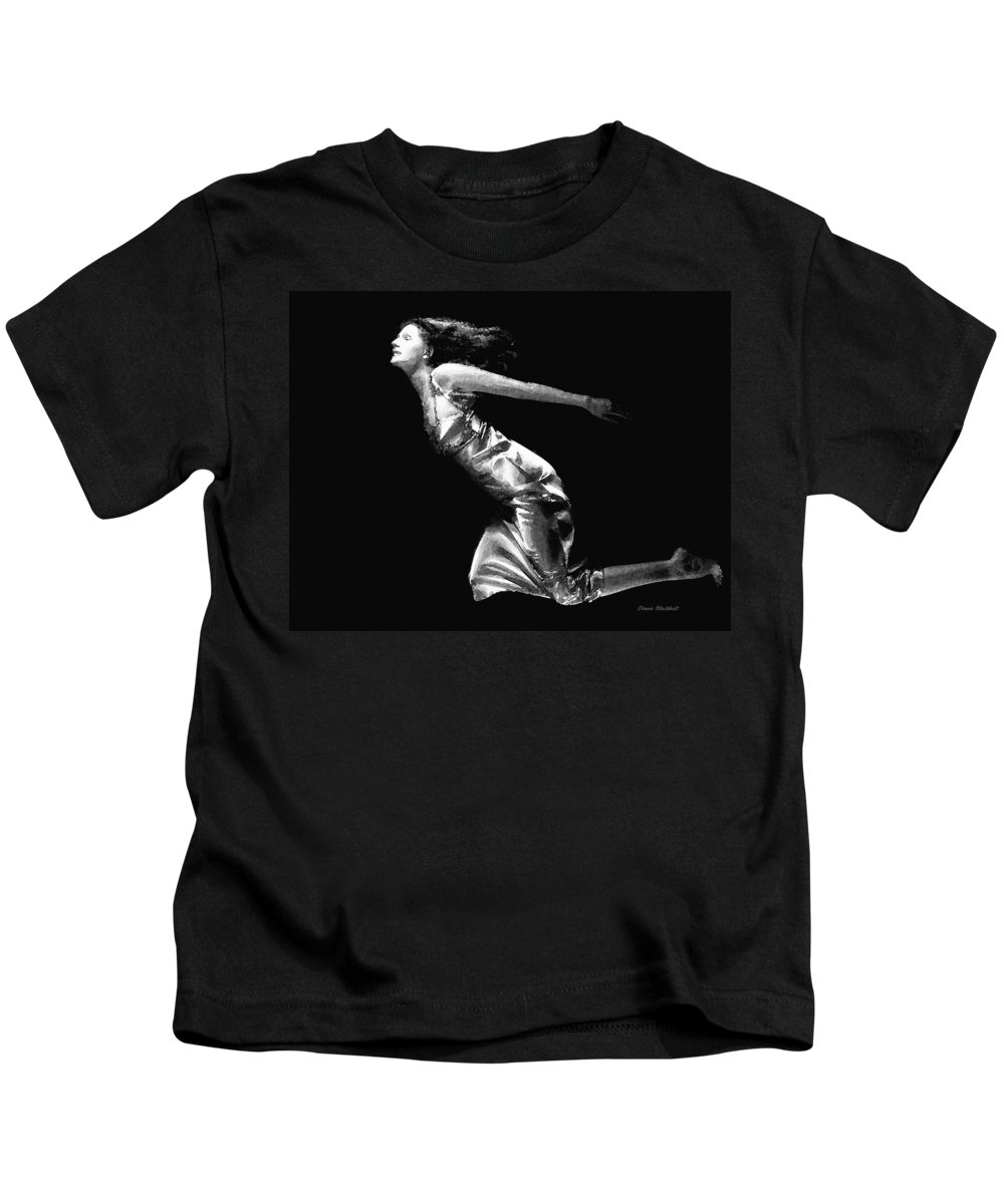 People Kids T-Shirt featuring the photograph Dream State by Donna Blackhall